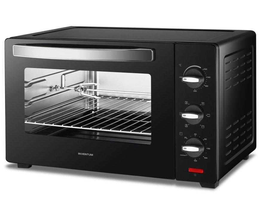Inventum OV457B vrijstaande oven - zwart
