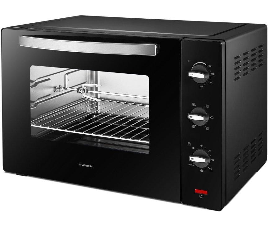 Inventum OV607B vrijstaande oven - zwart