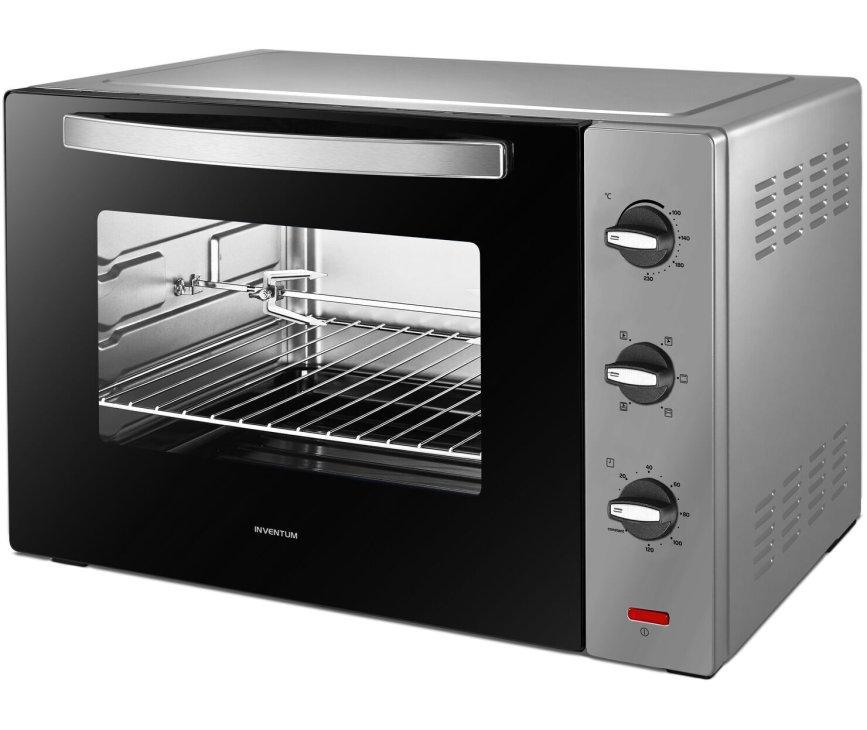 Inventum OV607S vrijstaande oven - zilver