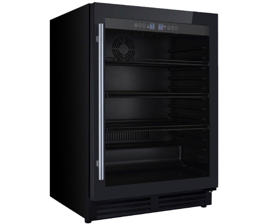 Iomabe IOB150BB koelkast onderbouw - zwart