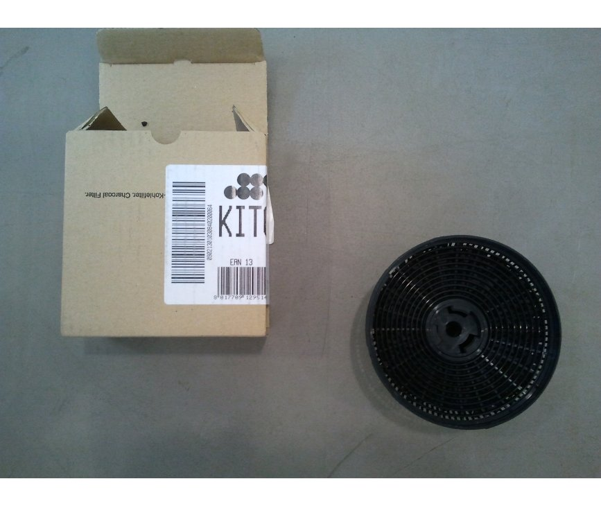 Verpakking van de SMEG koolstoffilter type KITC3C