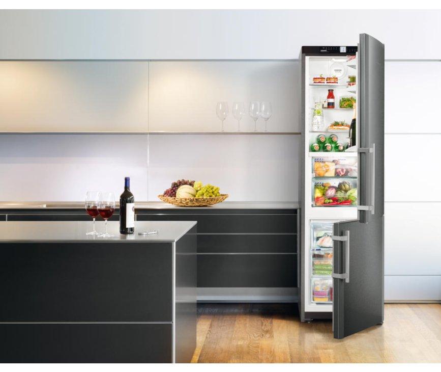 De Liebherr CBNPbs3756 koelkast is een echte design koelkast