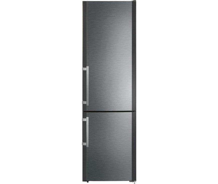 De Liebherr CBNPbs3756 koelkast is voorzien van massieve aluminium deurgrepen