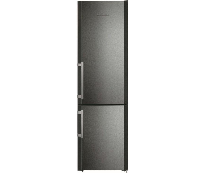 De Liebherr CNPbs4013 koelkast zwart is meer dan 2 meter hoog