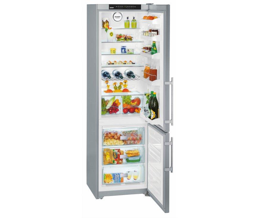 De Liebherr CNPesf4033 koelkast heeft een totale netto inhoud van 322 liter