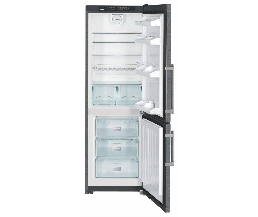 De Liebherr CPbs3413 koelkast heeft een totale netto inhoud van 278 liter