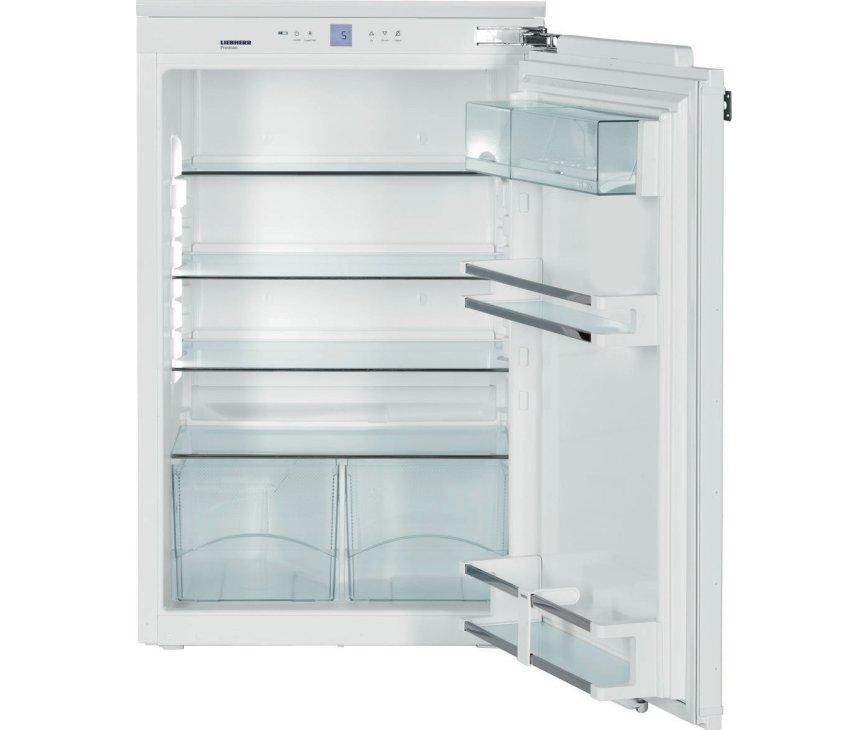 De Liebherr IK1650 inbouw koelkast heeft een inhoud van 154 liter