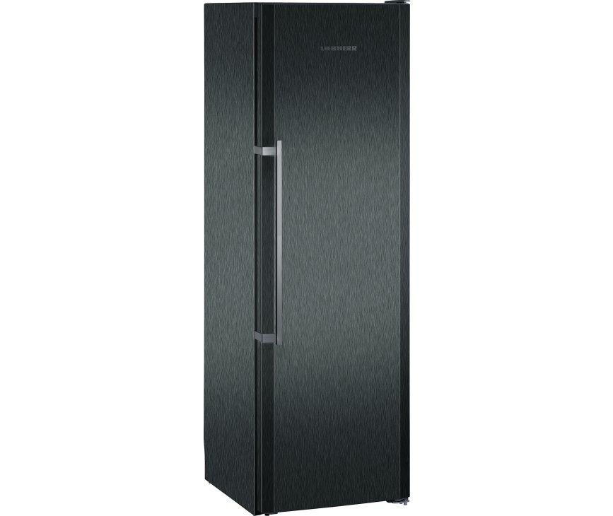 De buitenzijde van de Liebherr KBbs4260 koelkast zwart
