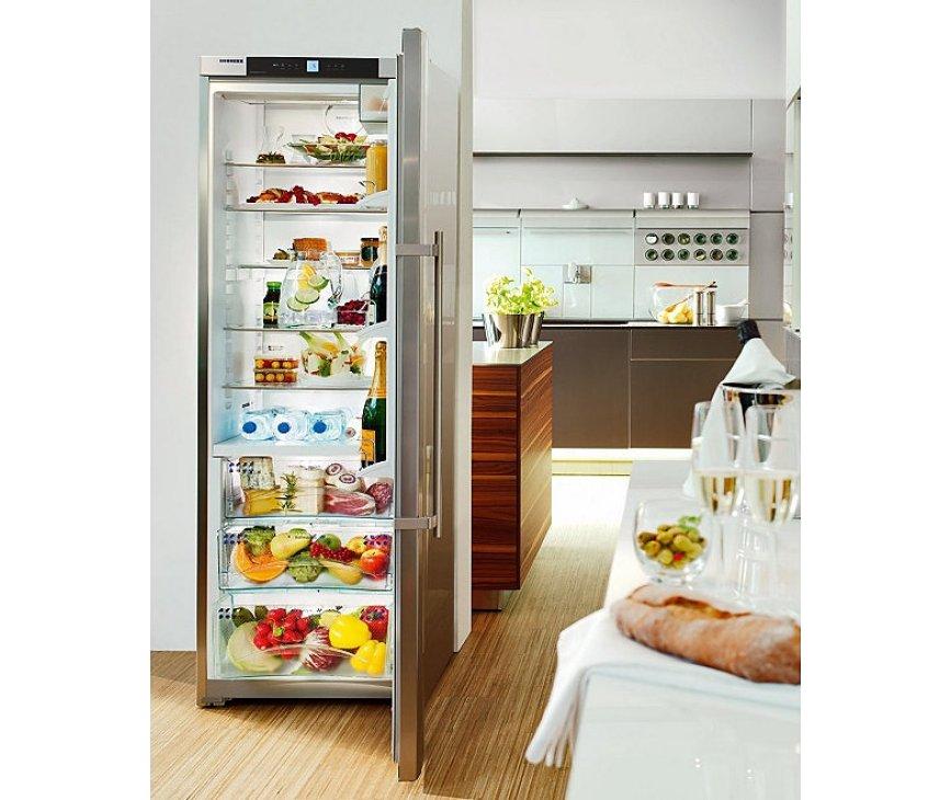 Het design van de KBes4260 rvs wordt zeer geprezen en past perfect in iedere keuken