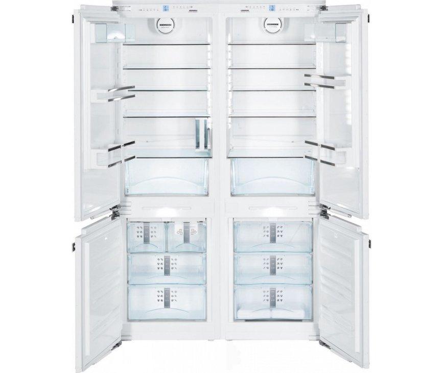 Liebherr SBS66I2 side-by-side inbouw koelkast