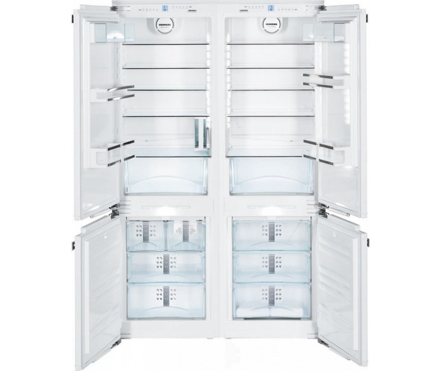 Liebherr SBS66I3 side-by-side inbouw koelkast