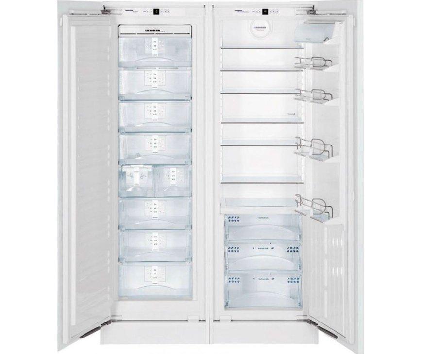 Liebherr SBS70I4 side-by-side inbouw koelkast