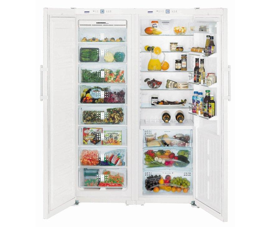 Liebherr SBS7253 side-by-side koelkast