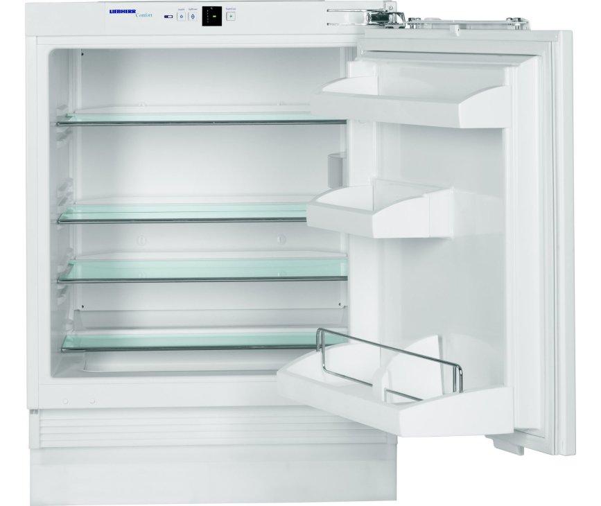 De Liebherr UIK1620 onderbouw koelkast heeft een inhoud van 137 liter