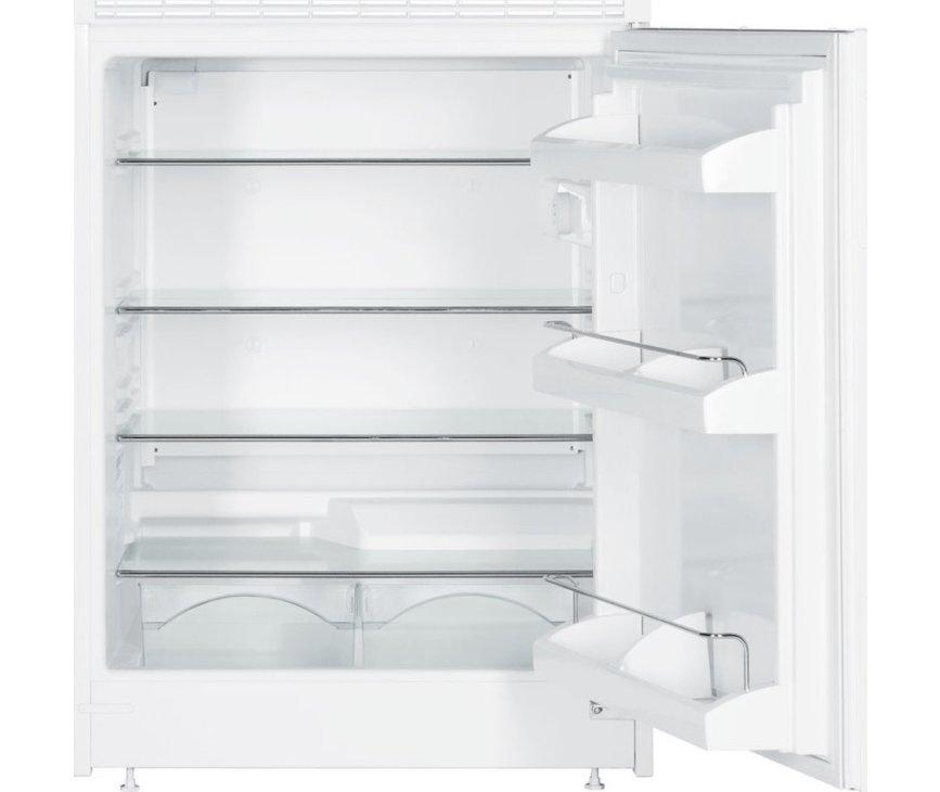 De Liebherr UK1720 onderbouw koelkast heeft een inhoud van 152 liter