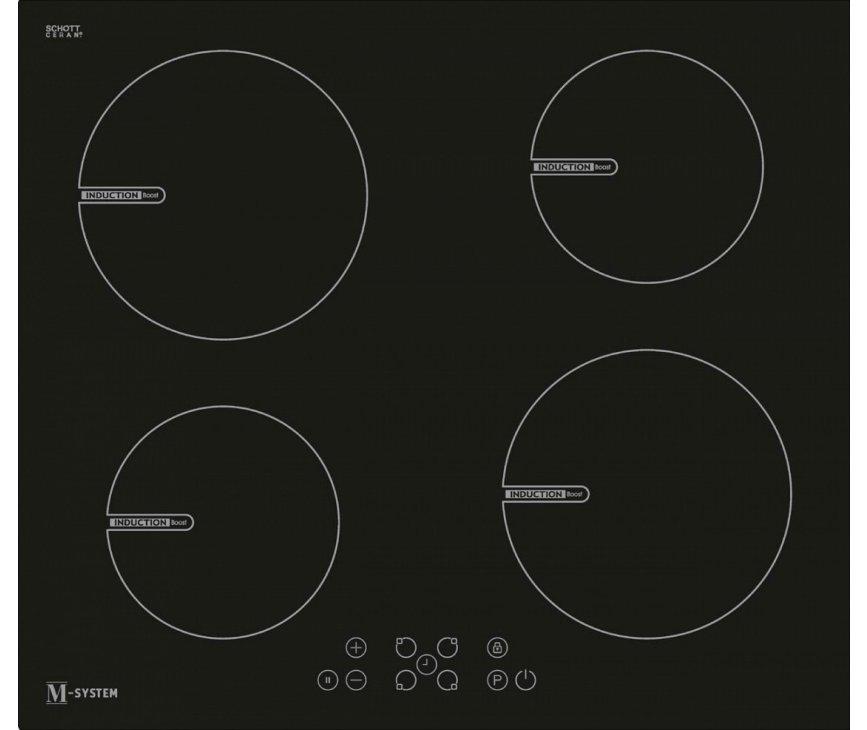M-System MI602 inductie kookplaat