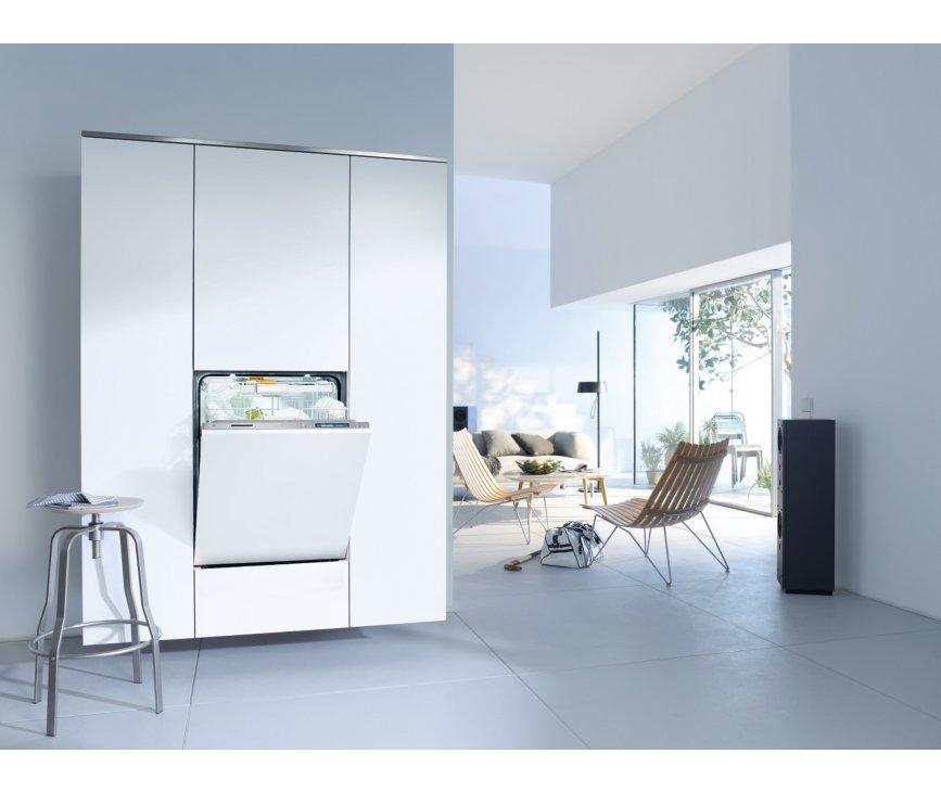 De Miele G6995 SCVi XXL K2O vaatwasser inbouw is perfect te integreren in uw keuken