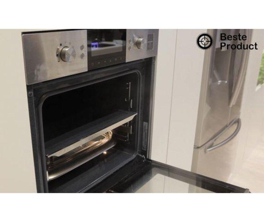 Foto van de binnenzijde van de Samsung NV6783BGESR oven