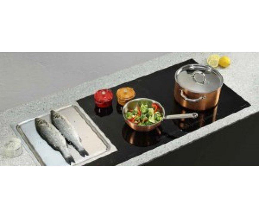 O+F inductie kookplaat CRT382-101 is te combineren met andere kookplaten om zo uw ideale kookplaat samen te stellen