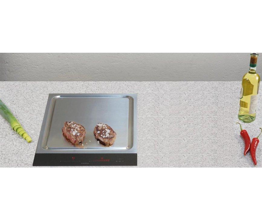 O+F inductie kookplaat CRT382-101, binnen 2 minuten gebruiksklaar