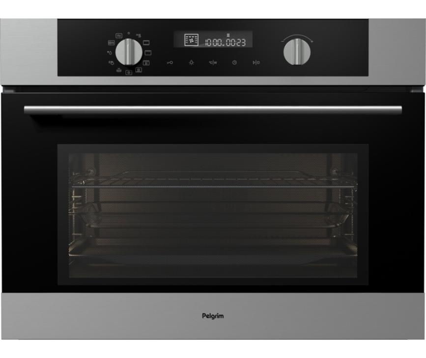 Pelgrim MAC514RVS oven met magnetron