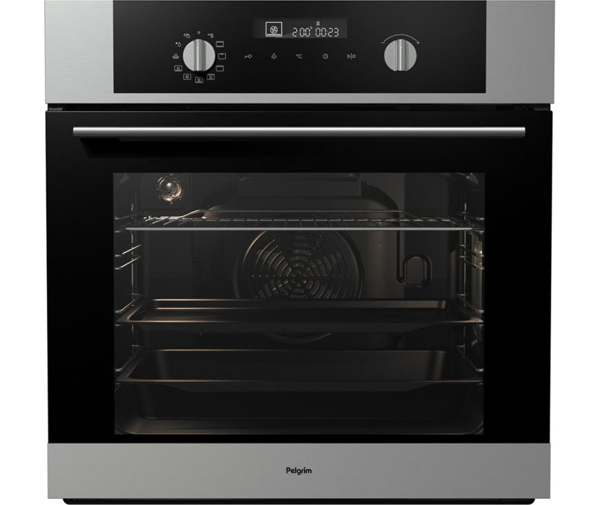 Pelgrim OVM516RVS inbouw oven