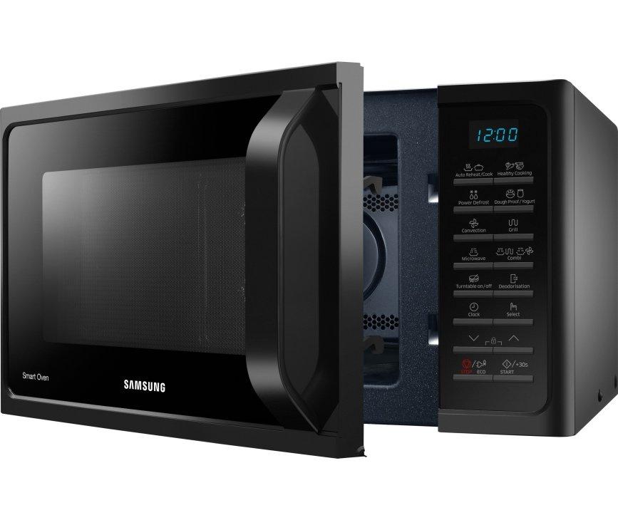 De Samsung MC28H5015AK beschikt in totaal over 40 programma's