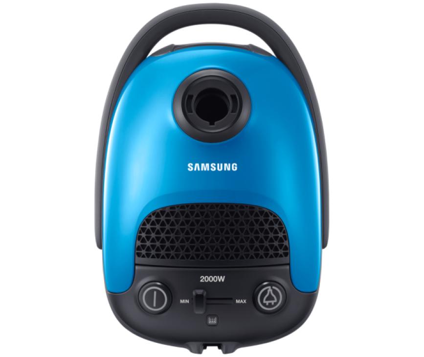De Samsung VC15F30WNJN stofzuiger heeft elektronische zuigkrachtregeling