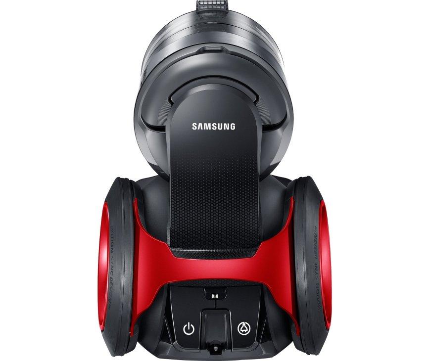 De Samsung VC20F70HNAR heeft een maximaal vermogen van 2000 Watt