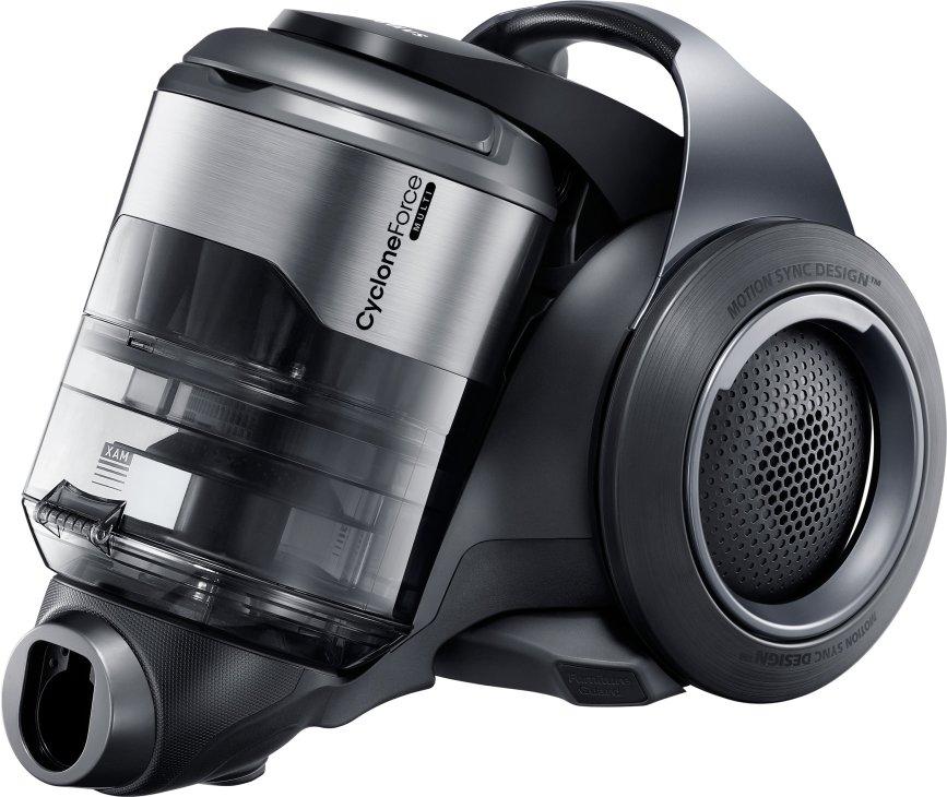De Samsung VC20F70HUCC stofzuiger heeft een capaciteit van 2 liter
