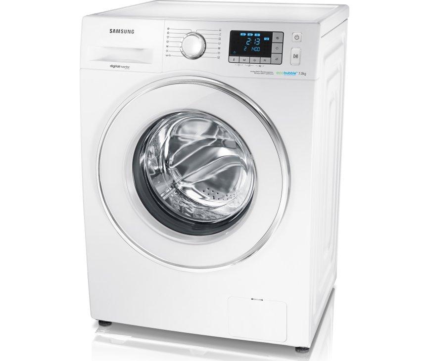 Samsung WF70F5E5P4W wasmachine is voorzien van EcoBubble technologie
