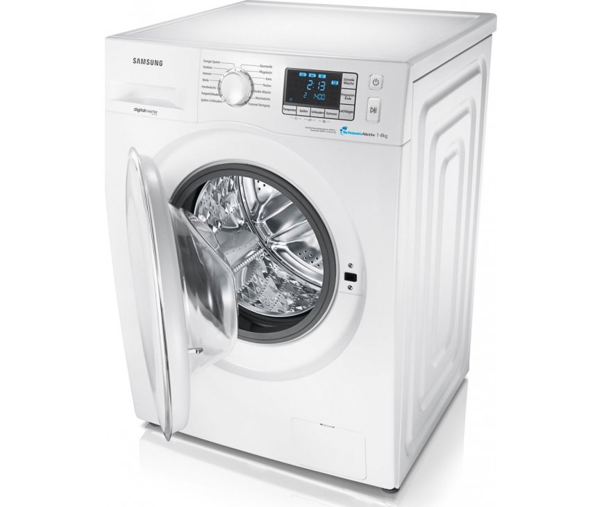 100% waterbeveiliging op de Samsung WF705P4SAWQ wasmachine door Aquastop en sensor
