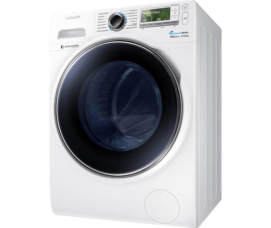 De Samsung WW12H8400EW kan 8kg wassen