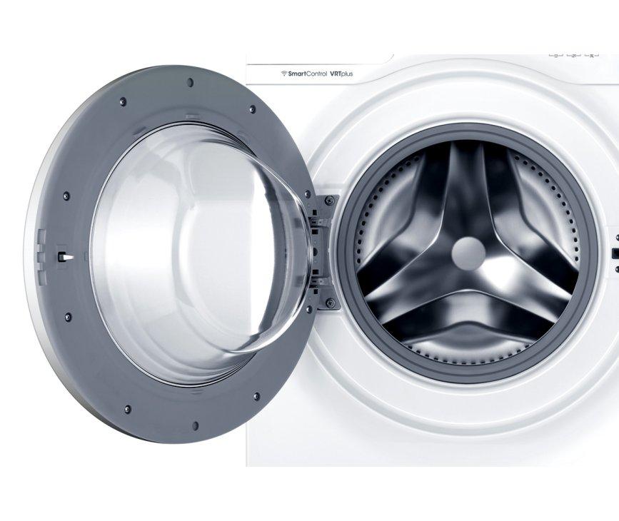 De Samsung WW80J6600CW wasmachine heeft een capciteit van 8 kg