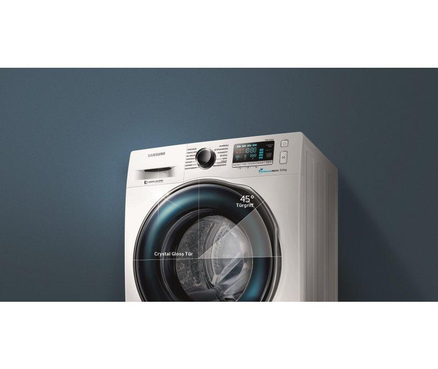 De Samsung WW80J6600CW wasmachine behaalttot wel 1600 toeren per minuut
