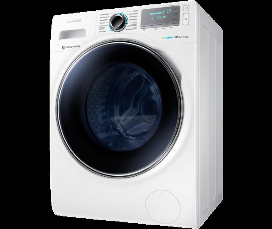 De Samsung WW90H7600EW is uitgerust met EcoBubble