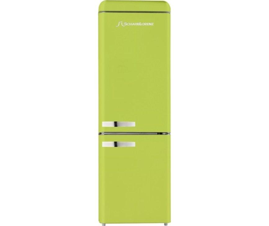 Schaub Lorenz DBF19060M-8533 koelkast limegroen