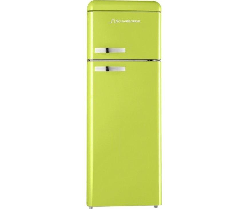 Schaub Lorenz DTF15055M-8540 koelkast lemon green