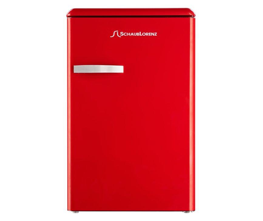 SCHAUB LORENZ koelkast rood TL55F-6553