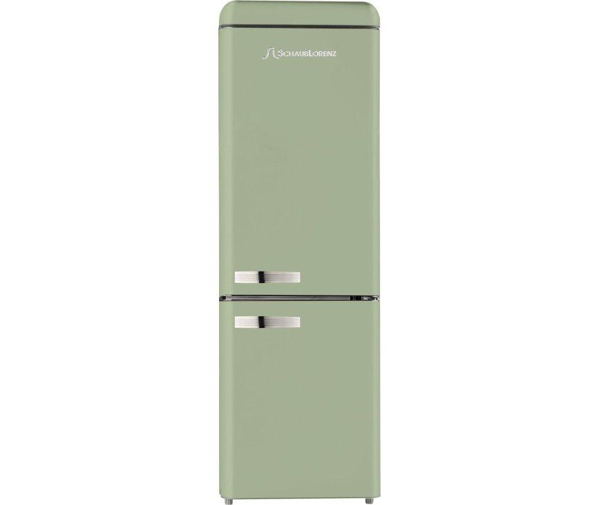 Schaub Lorenz DBF19060G-8137 koelkast groen