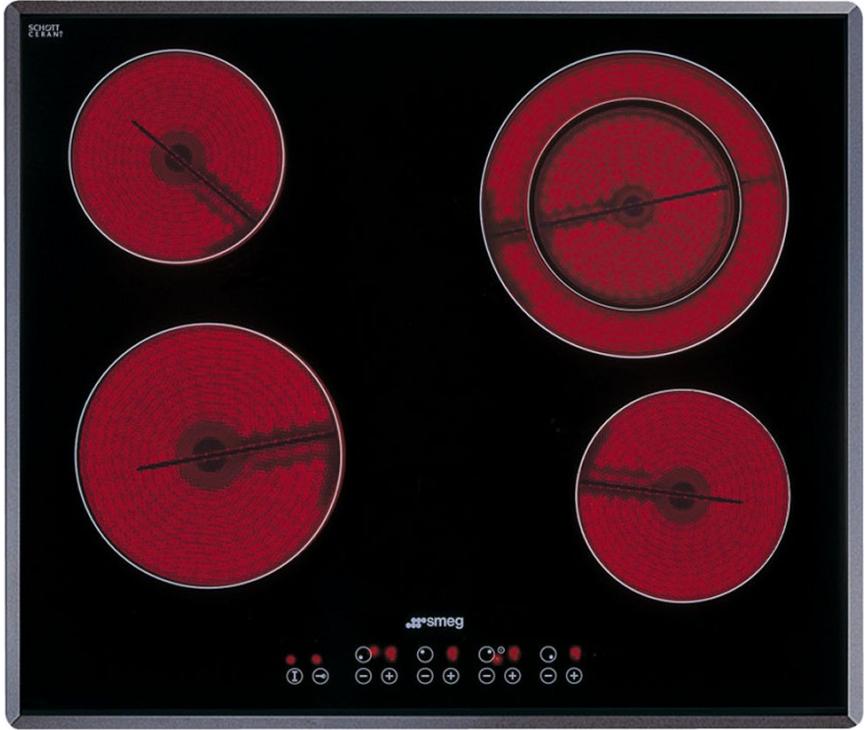 Smeg SE2641TC2 keramische kookplaat