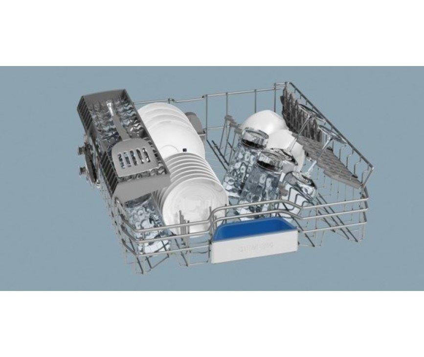 De bovenkorf van de Siemens SN69M052NL inbouw vaatwasser
