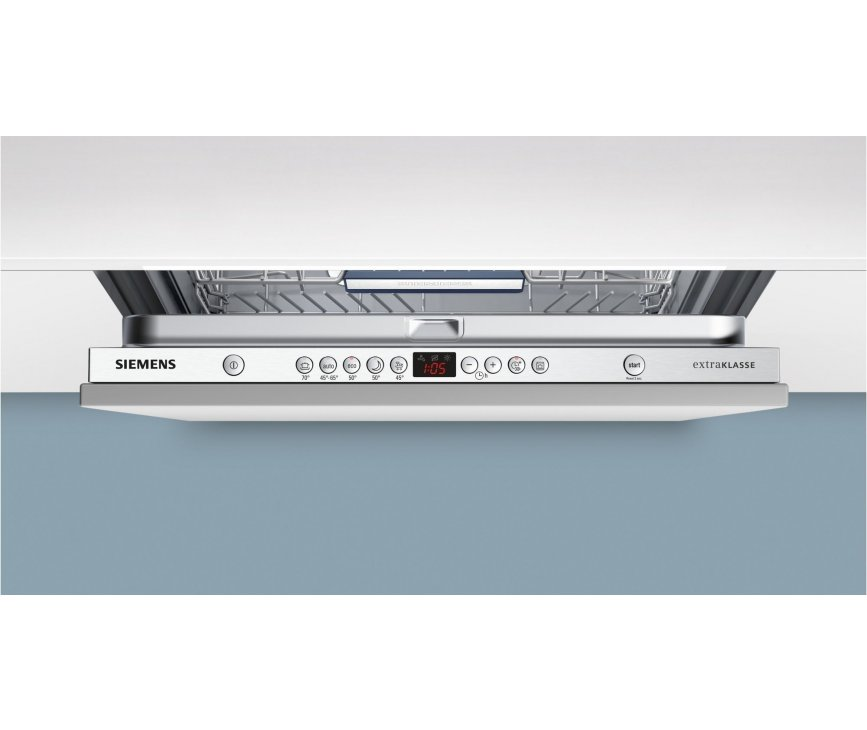 De bediening van de Siemens SX68M058EU is eenvoudig instelbaar.