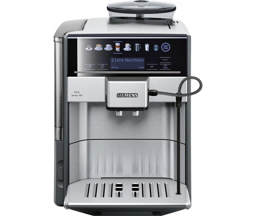 Siemens TE607203RW koffiemachine rvs