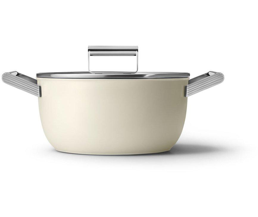 SMEG kookpan crème CKFC2411CRM