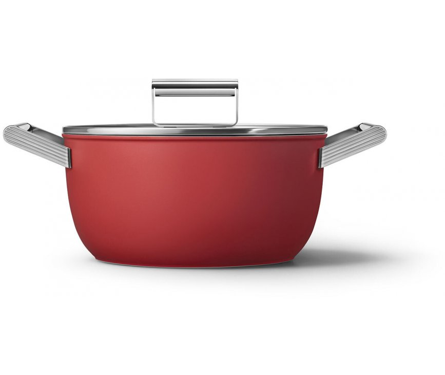 SMEG kookpan rood CKFC2411RDM