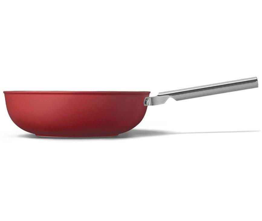 SMEG wokpan rood CKFW3001RDM
