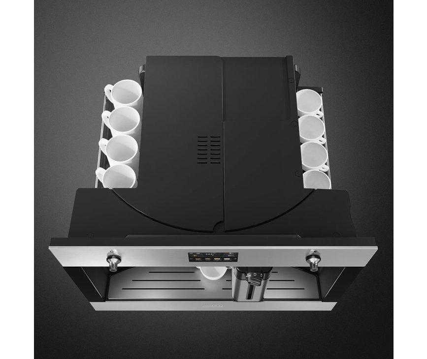 Smeg CMS4303X volautomatische inbouw koffiemachine