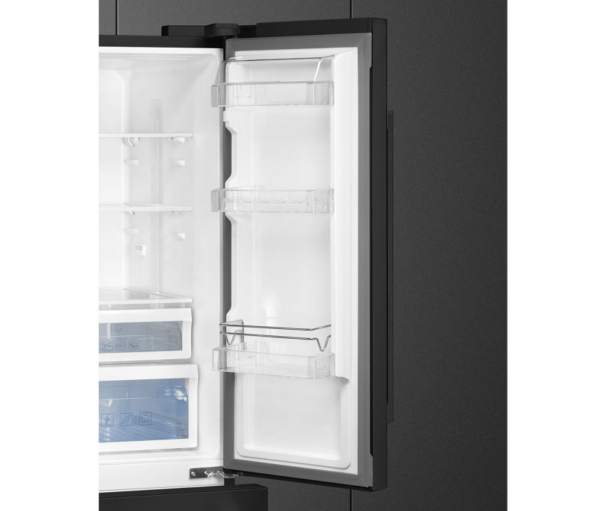 Smeg FQ55FNDF french-door koelkast - zwart