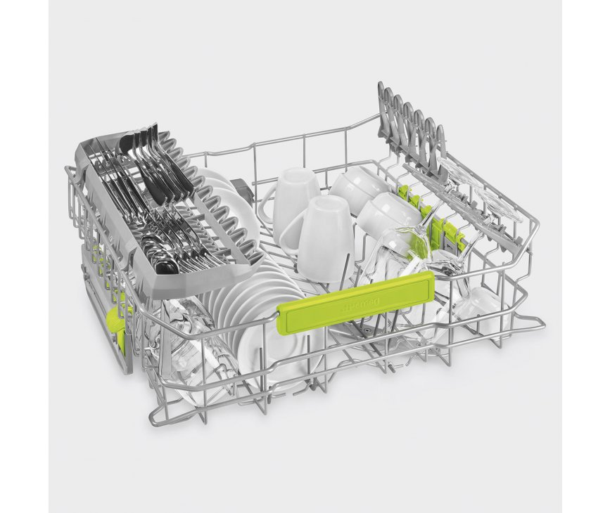 Smeg LVS432XIN vrijstaande vaatwasser - roestvrijstaal - 45 dB